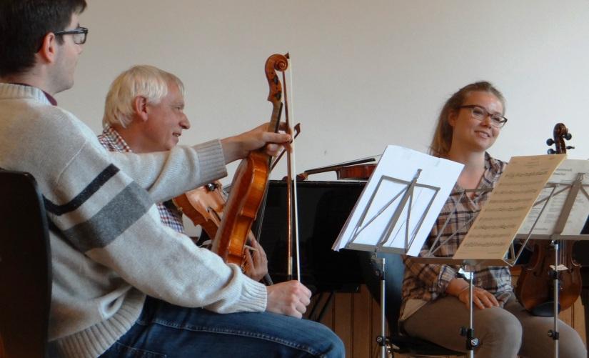 Der 2. Aarauer Kammermusikspielsalon – ein paarSpielerInnen