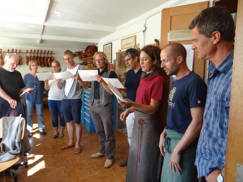 Die Werkstatt singt, Davidgeht