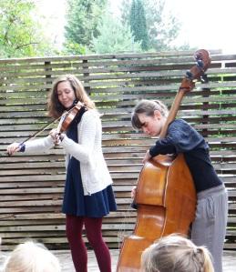 Laura Schuler und Lisa Hoppe am 29.07.2015